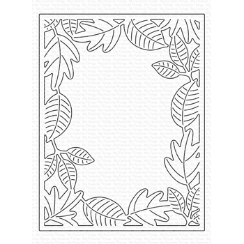 My Favorite Things LOTS OF LEAVES COVER-UP Die Die-Namics mft1760