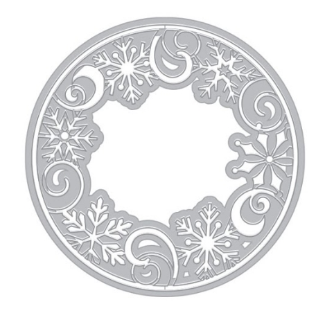 Hero Arts SNOWFLAKE MEDALLION Die DI789 zoom image