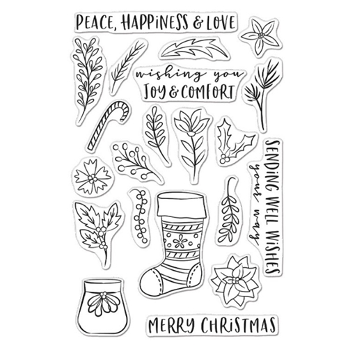 Hero Arts Clear Stamps STOCKING BOUQUET CM465 Preview Image