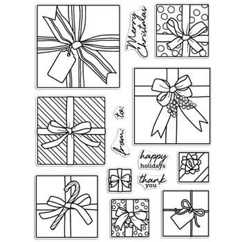 Hero Arts Clear Stamps GIFT PEEK A BOO Infinity Parts CM463