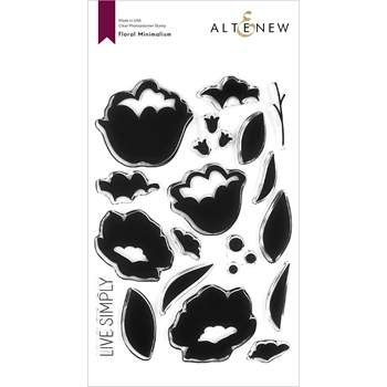 Altenew FLORAL MINIMALISM Clear Stamps ALT4379