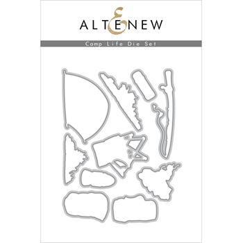 Altenew CAMP LIFE Dies ALT4372