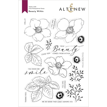 Altenew BEAUTY WITHIN Clear Stamps ALT4366