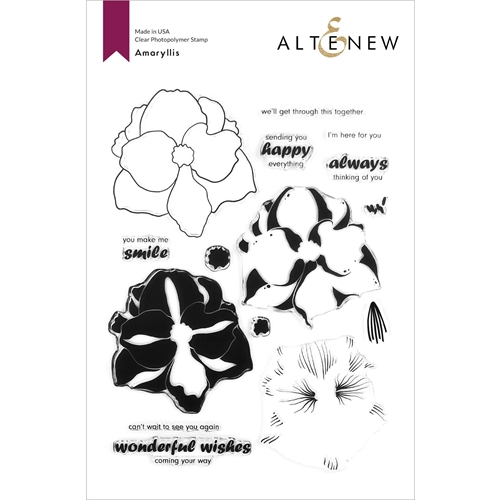 Altenew AMARYLLIS Clear Stamps ALT4360 Preview Image