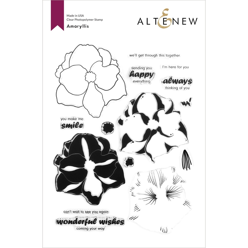 Altenew AMARYLLIS Clear Stamps ALT4360 zoom image