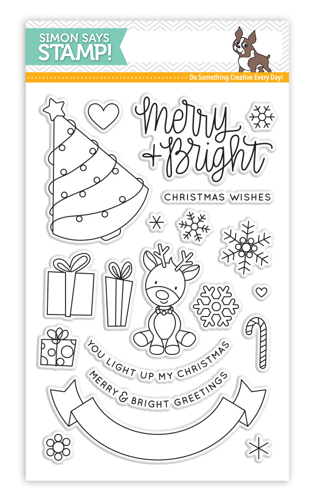 Simon Says Clear Stamps MERRY AND BRIGHT SSS101687 zoom image