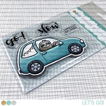 Create A Smile LET'S GO Clear Stamps clcs149