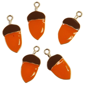 Prima Marketing PUMPKIN AND SPICE Enamel Charms 647865