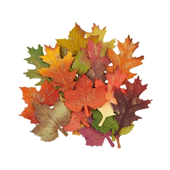 Prima Marketing FALL LEAVES Pumpkin And Spice Flowers 648367