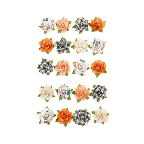 Prima Marketing COZY EVENING Pumpkin And Spice Flowers 648381 Preview Image