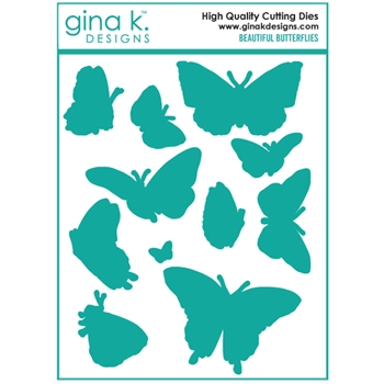 Gina K Designs BEAUTIFUL BUTTERFLIES Die Set 6705