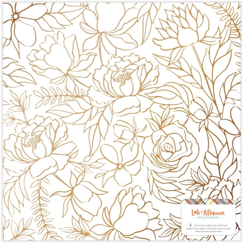 American Crafts Amy Tangerine SPECIALTY PAPER 12 X 12 Late Afternoon 369673 Preview Image