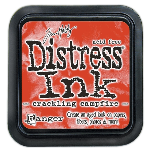 Tim Holtz Distress Ink Pad August 2020 New CRACKLING CAMPFIRE Ranger tim72294 Preview Image