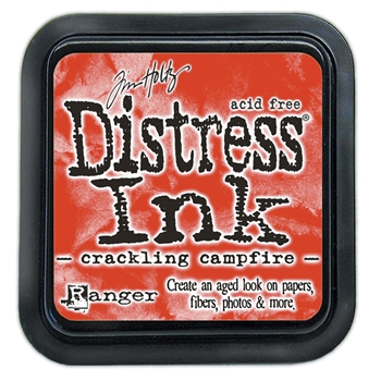 Tim Holtz Distress Ink Pad August 2020 New CRACKLING CAMPFIRE Ranger tim72294