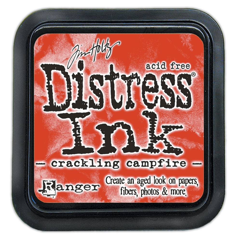 Tim Holtz Distress Ink Pad August 2020 New CRACKLING CAMPFIRE Ranger tim72294 zoom image