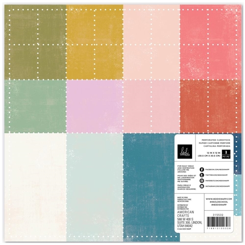 Heidi Swapp OLD SCHOOL 12 x 12 Specialty Paper 315532 Preview Image