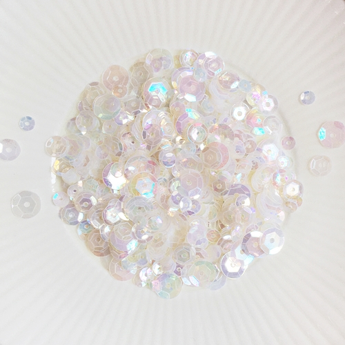 Little Things From Lucy's Cards MOTHER OF PEARL Sequin Mix LBsm56 Preview Image
