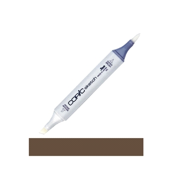 Copic Sketch MARKER E49 DARK BARK Brown