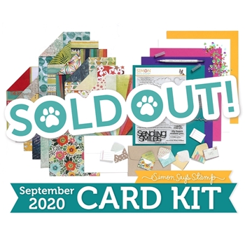 Simon Says Stamp Card Kit of the Month September 2020 JUST MISS YOU ck0920