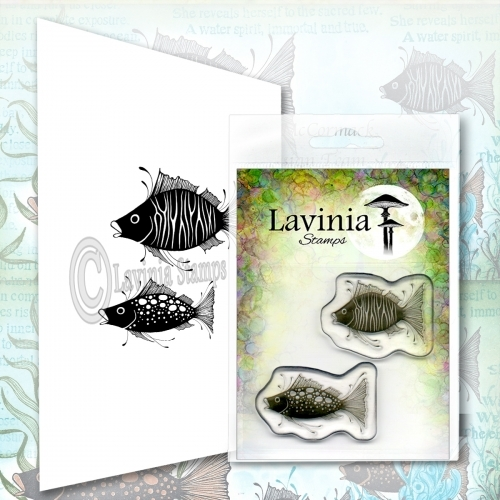 Lavinia Stamps FISH SET Clear Stamps LAV621 zoom image