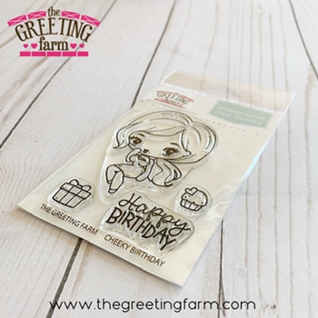 The Greeting Farm CHEEKY BIRTHDAY Clear Stamps tgf562