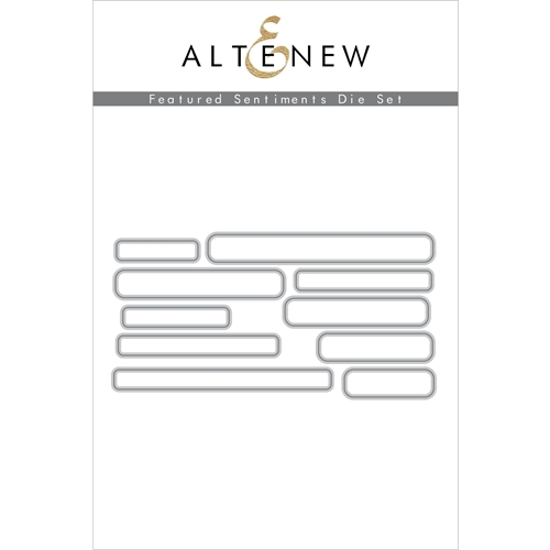 Altenew FEATURED SENTIMENTS Dies ALT4398 Preview Image