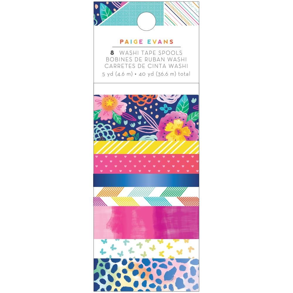 Paige Evans GO THE SCENIC ROUTE Washi Tape 369777* zoom image