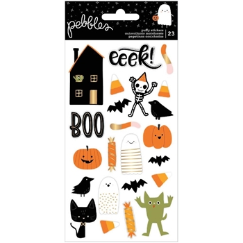 Pebbles Inc. SPOOKY Puffy Stickers 736998