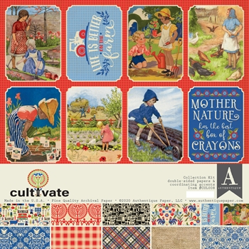 Authentique CULTIVATE 12 x 12 Collection Kit cul008