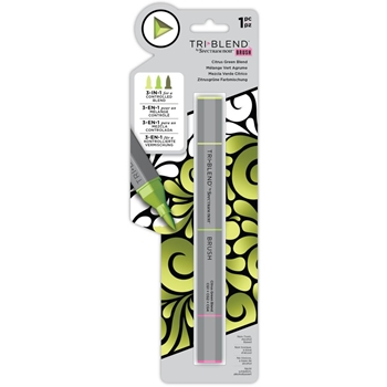 Spectrum Noir CITRUS GREEN BLEND TriBlend Brush Marker sntbbrcgbl