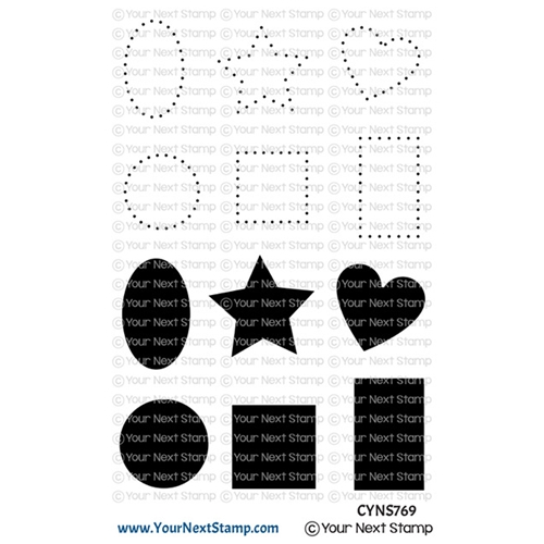 Your Next Stamp DOTS AND SHAPES Clear cyns769 Preview Image