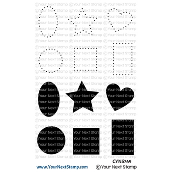 Your Next Stamp DOTS AND SHAPES Clear cyns769