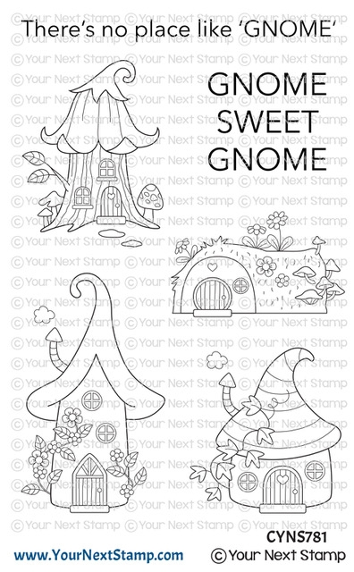 Your Next Stamp GNOME SWEET GNOME Clear cyns781 zoom image