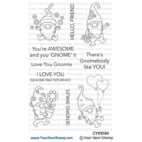 Your Next Stamp HAPPY GNOMIES Clear cyns780 Preview Image