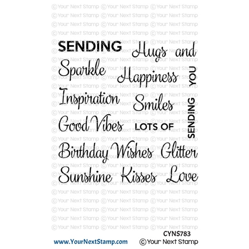 Your Next Stamp WHATNOT SENTIMENTS FOURTEEN Clear cyns783 Preview Image