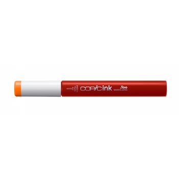 Copic CHROME ORANGE Refill and Alcohol Ink yr04