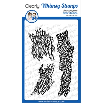 Whimsy Stamps NATURE'S SKELETON Clear Stamps DA1147*