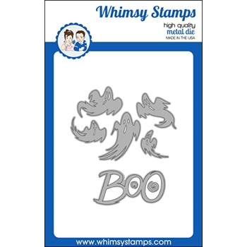 Whimsy Stamps BOO Dies WSD484