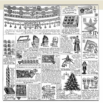 Emerald Creek CHRISTMAS WISHES Cling Stamp bsbkb9623