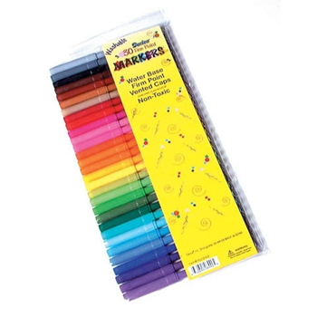 Darice FINE POINT WASHABLE MARKERS 30 Pack 102303