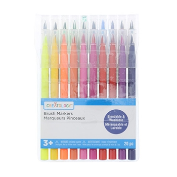 Creatology BRUSH MARKERS 20 PACK mk567409