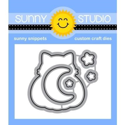 Sunny Studio SCAREDY CAT Snippets Dies SSDIE-208 Preview Image