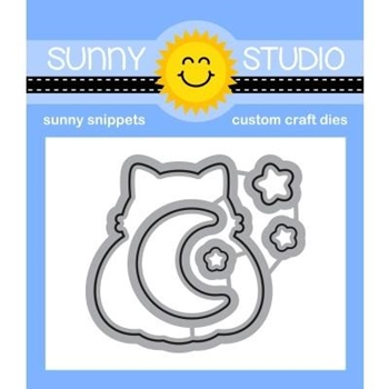 Sunny Studio SCAREDY CAT Snippets Dies SSDIE-208
