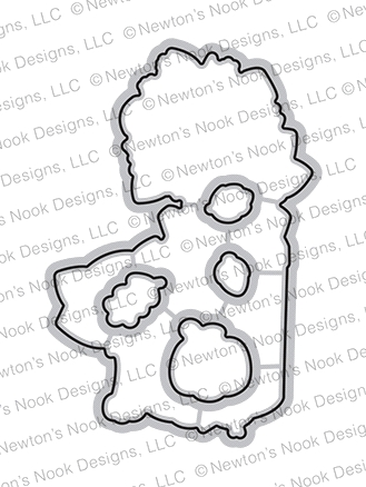 Newton's Nook Designs PAW TUMN NEWTON Dies NN2008D02 Preview Image