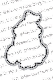 Newton's Nook Designs KNIGHT OWL Dies NN2008D04