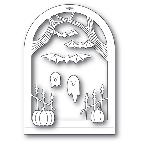 Memory Box HAUNTED ENTRANCE DOME LAYER Craft Dies 94507 Preview Image
