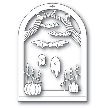 Memory Box HAUNTED ENTRANCE DOME LAYER Craft Dies 94507