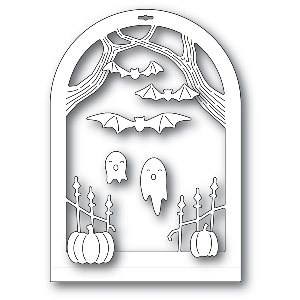Memory Box HAUNTED ENTRANCE DOME LAYER Craft Dies 94507 zoom image
