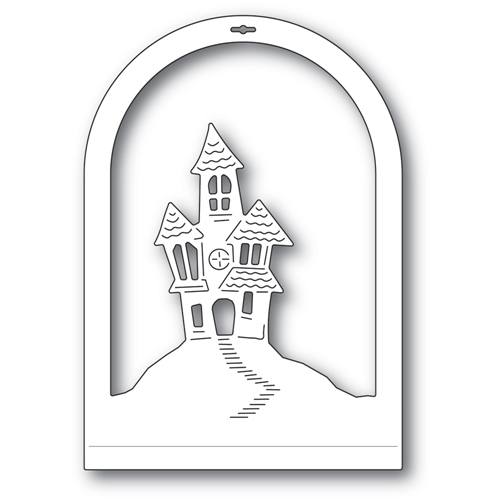 Memory Box HAUNTED HOUSE DOME LAYER Craft Die 94508 Preview Image