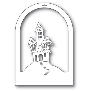 Memory Box HAUNTED HOUSE DOME LAYER Craft Die 94508